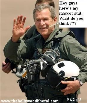 President Bush reminds of his mission accomplished