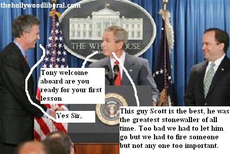 Scott Mcclellan gives Bush New Press Secretary some lessons