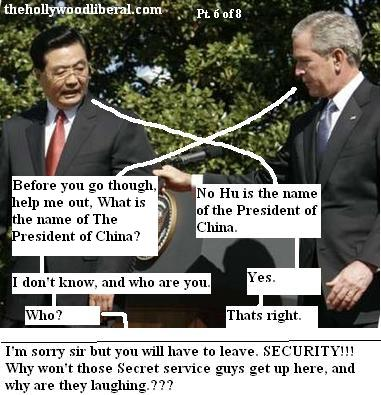 Bush talks with Chinese Premier Hu