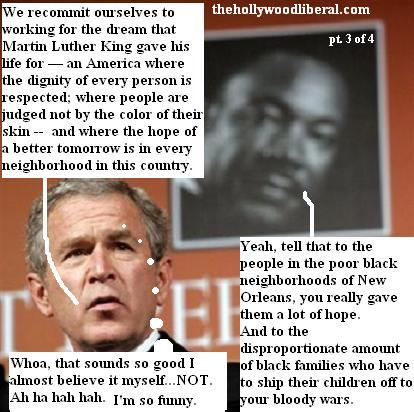Bush speaks at NAACP in Washington 011605