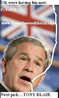 Bush unionjack