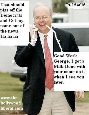 Rove: Good work George