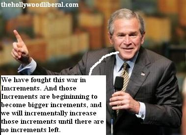 George W. Bush addresses a conference
