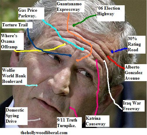 George W. Bush roadmap of failure