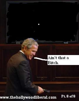 President Bush gets hung up on by the space shuttle crew