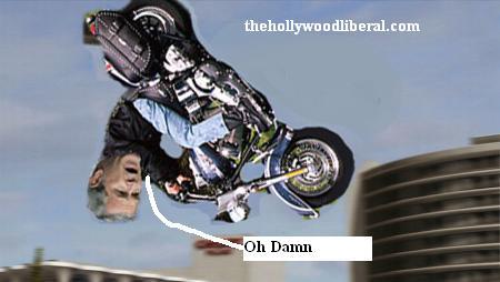 Bush visits Harley Davidson