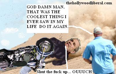 Bush gets caught up in his own bad judgement again