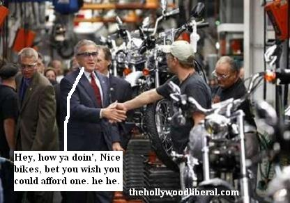 Bush discusses Malcolm Forbes and Harley Davidsons