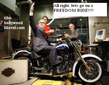Bush used to hang with the hells angels