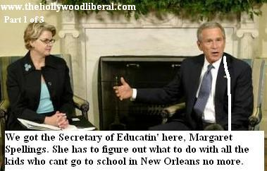 President Bush Meets with Education Secretary Margaret Spellings