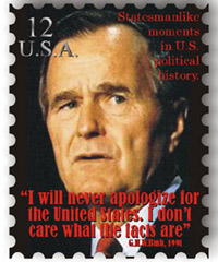 Bush Sr. Stamp
