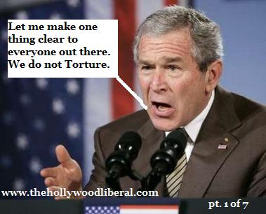 Bush lies as he makes a speech saying We do not Torture 110805