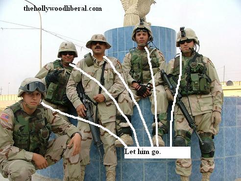 U.S. Army troops in Baghdad