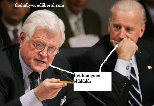 Ted Kennedy and Joe Biden