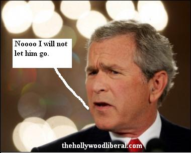 President Bush refuses to fire Don Rumsfeld