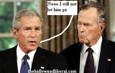George Bush Jr. and Sr.
