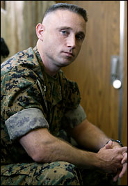 Captain Kelly D. Royer, he complained about not having Armoured Humvees, then they demoted him 050205