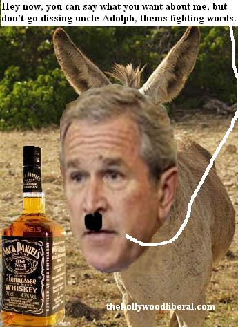 Bush Chavez Hitler