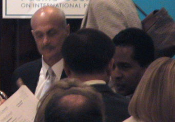 Michael Chertoff at Pacific Council of foreign relations meeting in L.A.