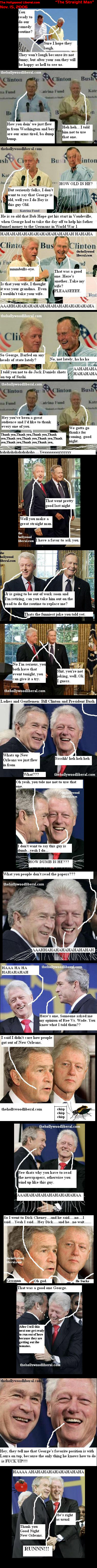 Bush and clinton channel abbot and costello