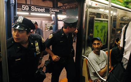 New York City Cops Harrass Passengers on the subway