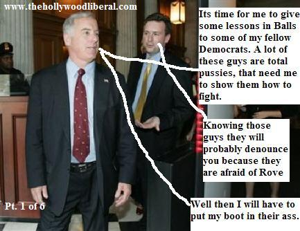 Howard Dean goes on the road to give lessons in balls to Democrats 061605