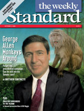Sen.George Allen on Cover of The Weekly Standard