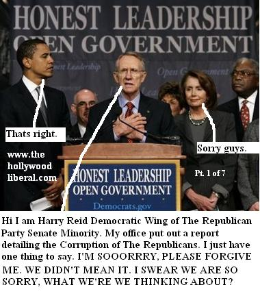Harry Reid apologizes for telling the truth again