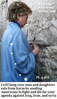 Senator Clinton from NY prays