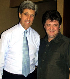 The Hollywood Liberal and John Kerry