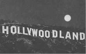 Old time pic from the '20s of The Hollywoodland sign as it was then known