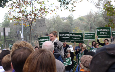 Jennifer Garner at McNerny rally in northern california