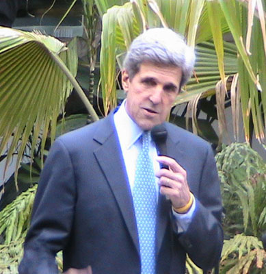 John Kerry Talks about This moment on Earth
