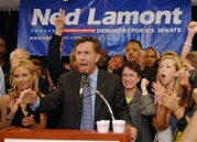 Ned Lamonts Victory speech in Connecticut