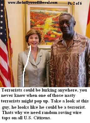 Laura Bush in Africa