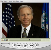 Independent Senator Joe Lieberman