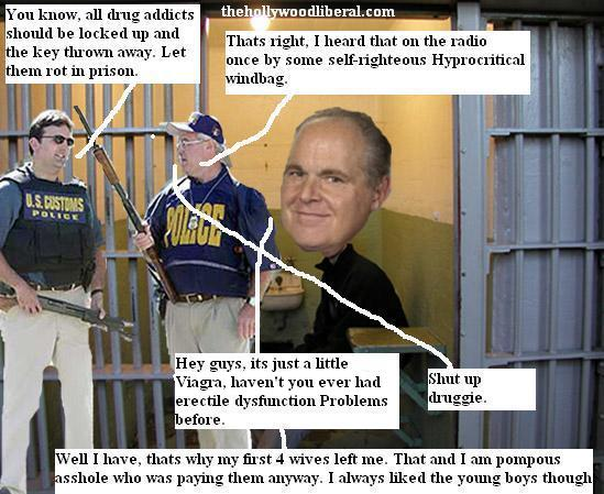 Rush Limbaugh violated his probation deal