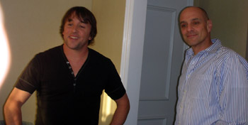 Fast Food Nation Director Richard Linklater, and writer Schlosser