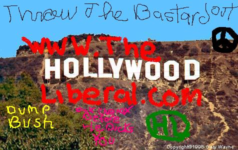 One of our logos from The Hollywood Liberal.com