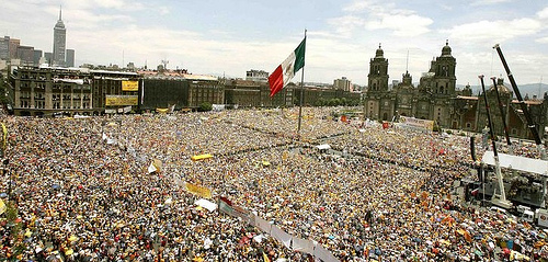 1.1 Million People Protest the Presidential Election in Mexico
