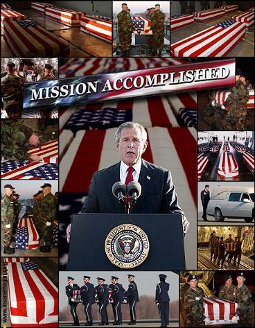 George W. Bush Mission Accomplished