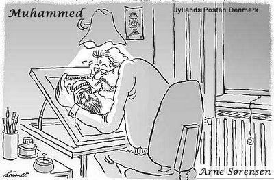 muslims got angry over this muhammad cartoon