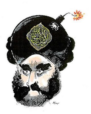 Muhammad cartoon bomb turban