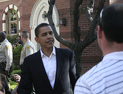 Barack obama gave speech at USC