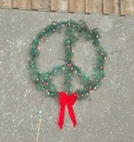 Christmas Peace Wreath
