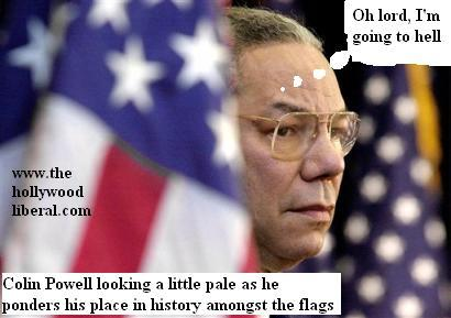 Colin Powell, as he looked on 011605
