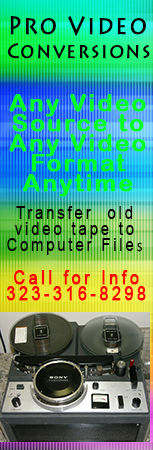 Convert your video tapes to digital files