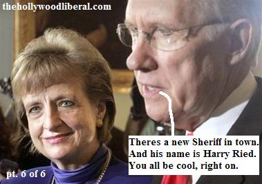 Harry Reid personally selected Harriet Miers for The Supreme Court
