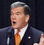 Its a wolf Tom Ridge, tries to scare everyone again in this image.