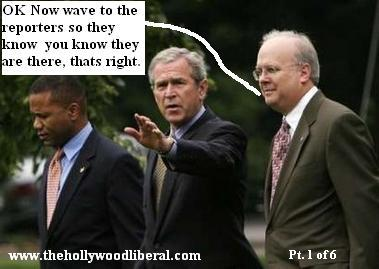 President Bush is standing behind his man Karl Rove despite Treason allegations 071705